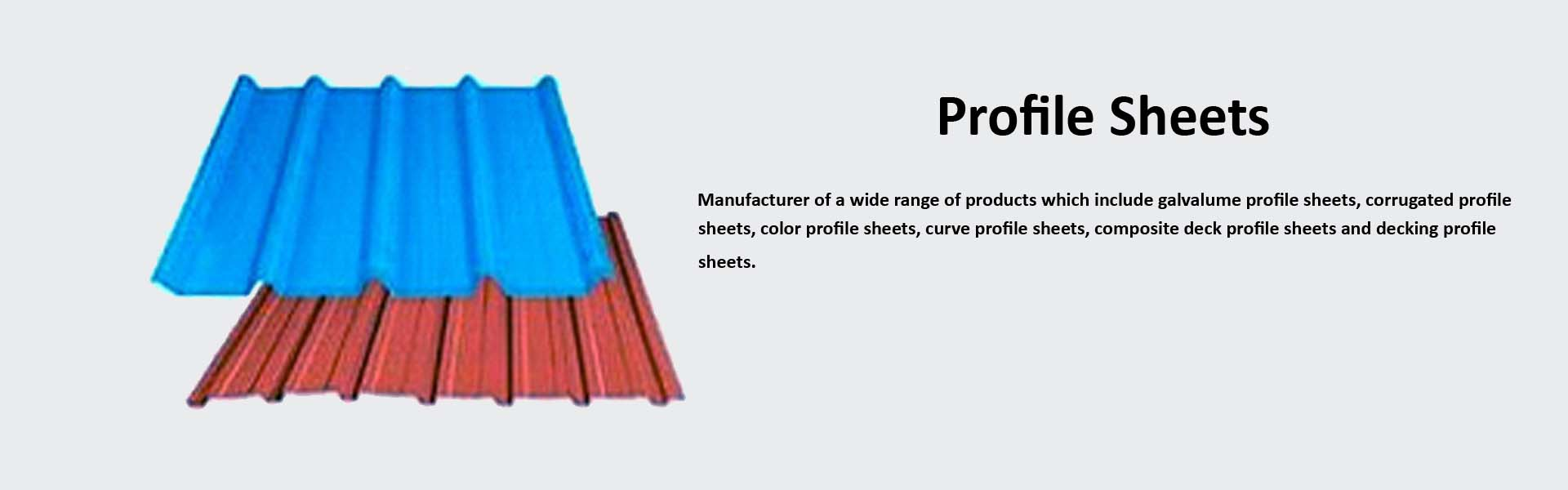 Color Coated Profile Sheet and Purlins Manufacturer ...